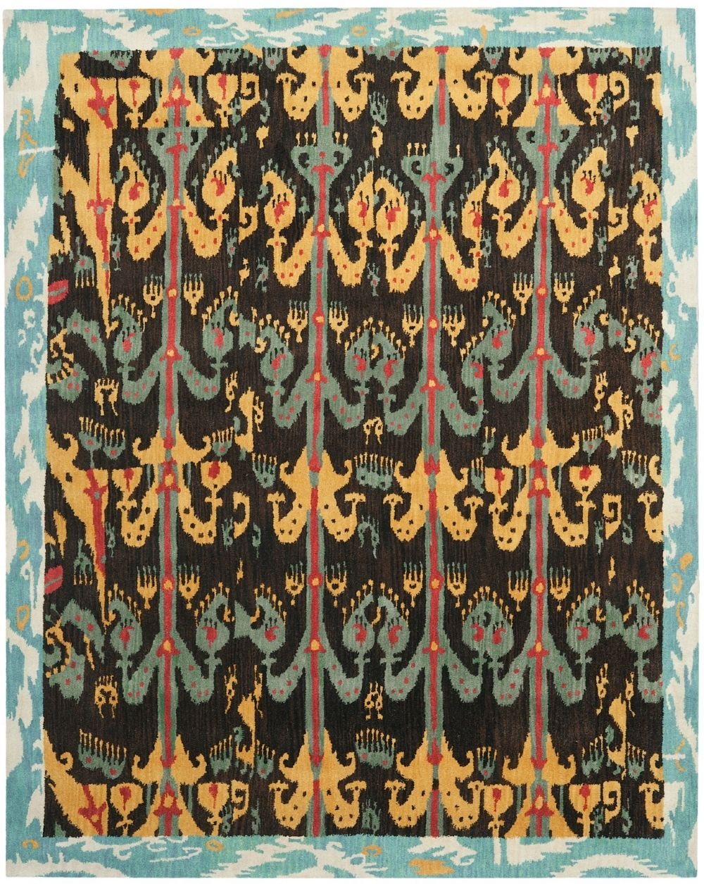 safavieh ikat contemporary area rug collection