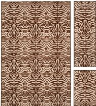 Safavieh Contemporary Metropolis - Set of 3 (4.11 X 6.6) & (1.8 X 5) & (1.8 X 2.8) Area Rug Collection