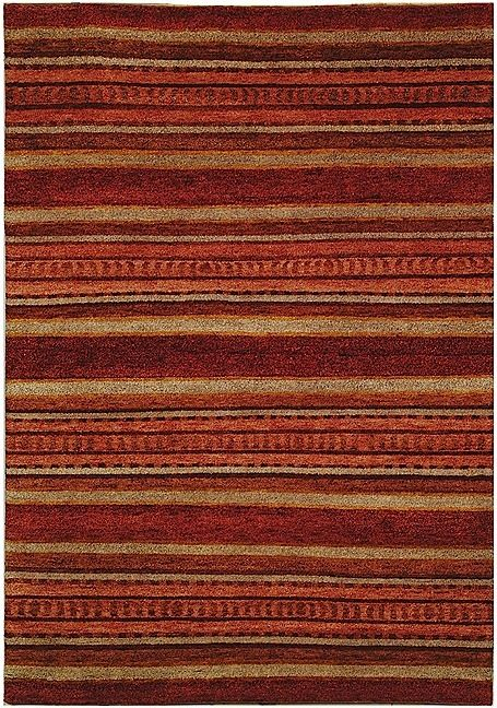 safavieh selaro solid/striped area rug collection
