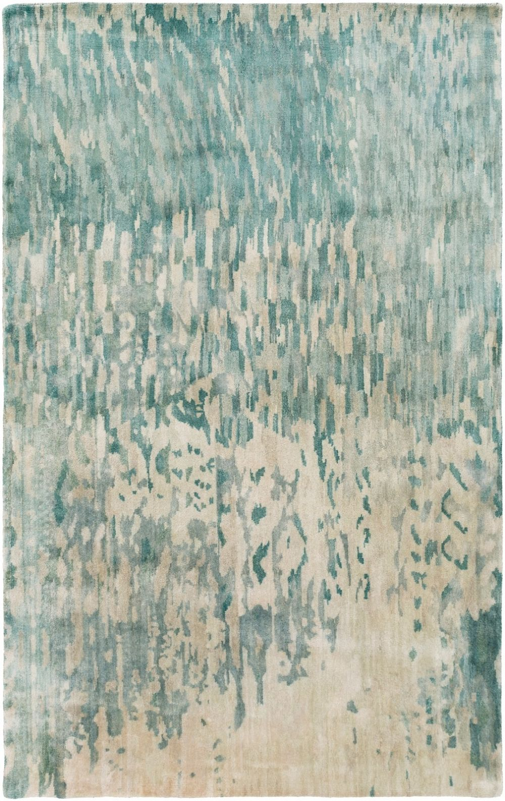surya watercolor contemporary area rug collection