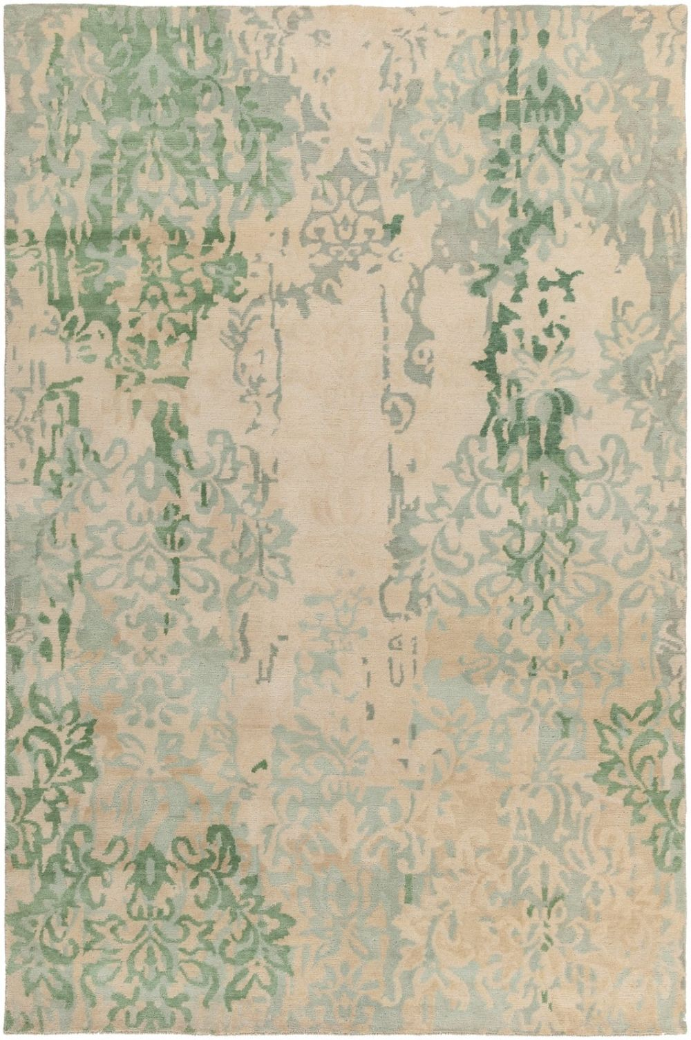 surya brocade contemporary area rug collection