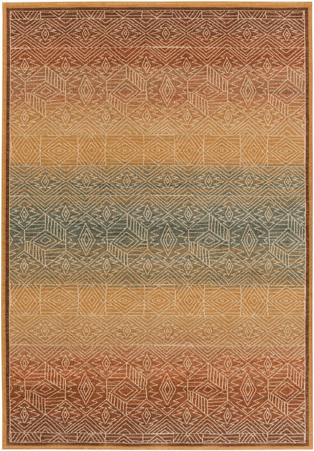 surya arabesque southwestern/lodge area rug collection