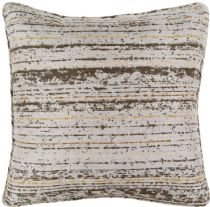 Surya Solid/Striped Arie pillow Collection