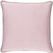 Surya Solid/Striped Sasha pillow Collection