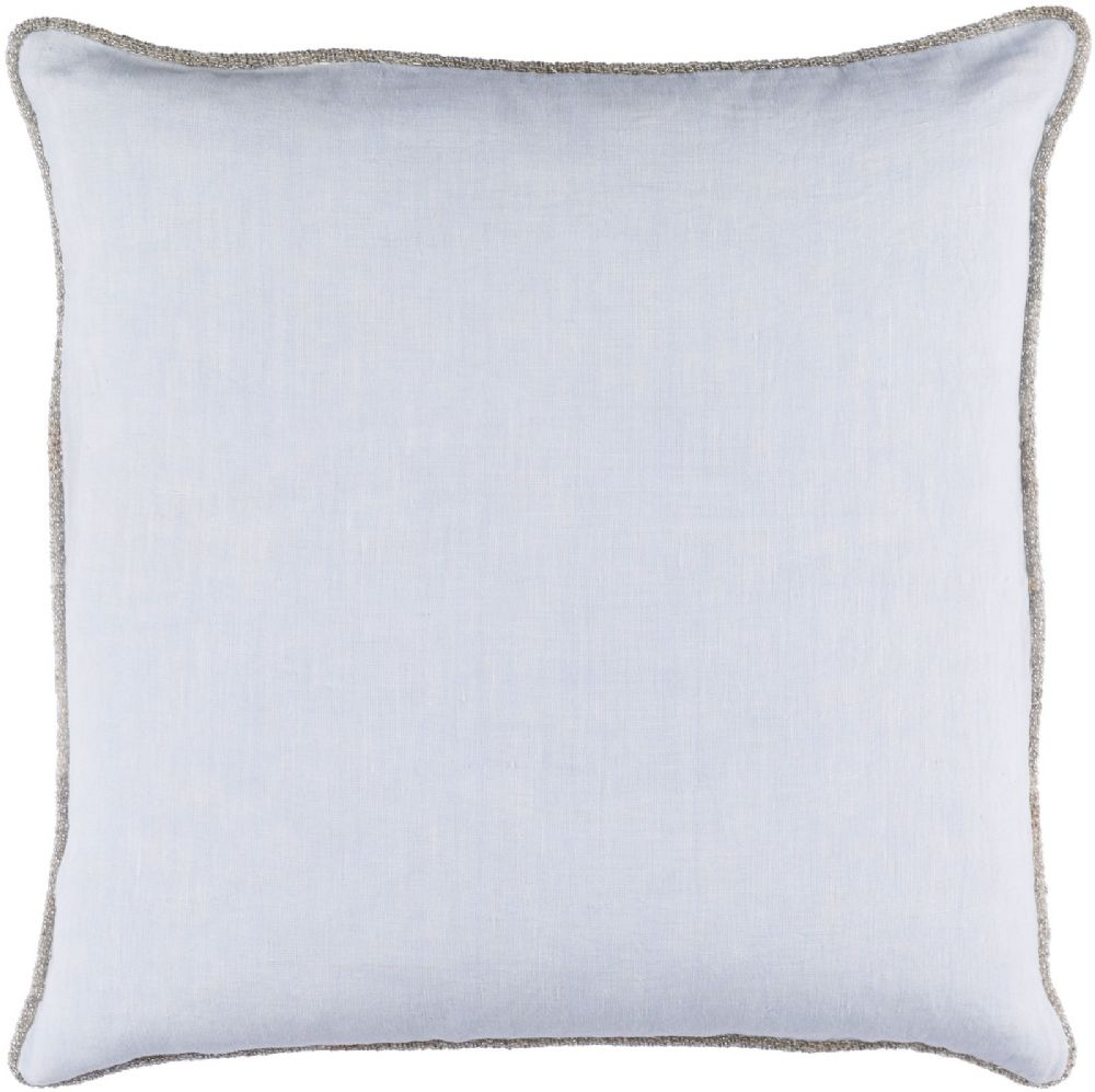surya sasha solid/striped decorative pillow collection