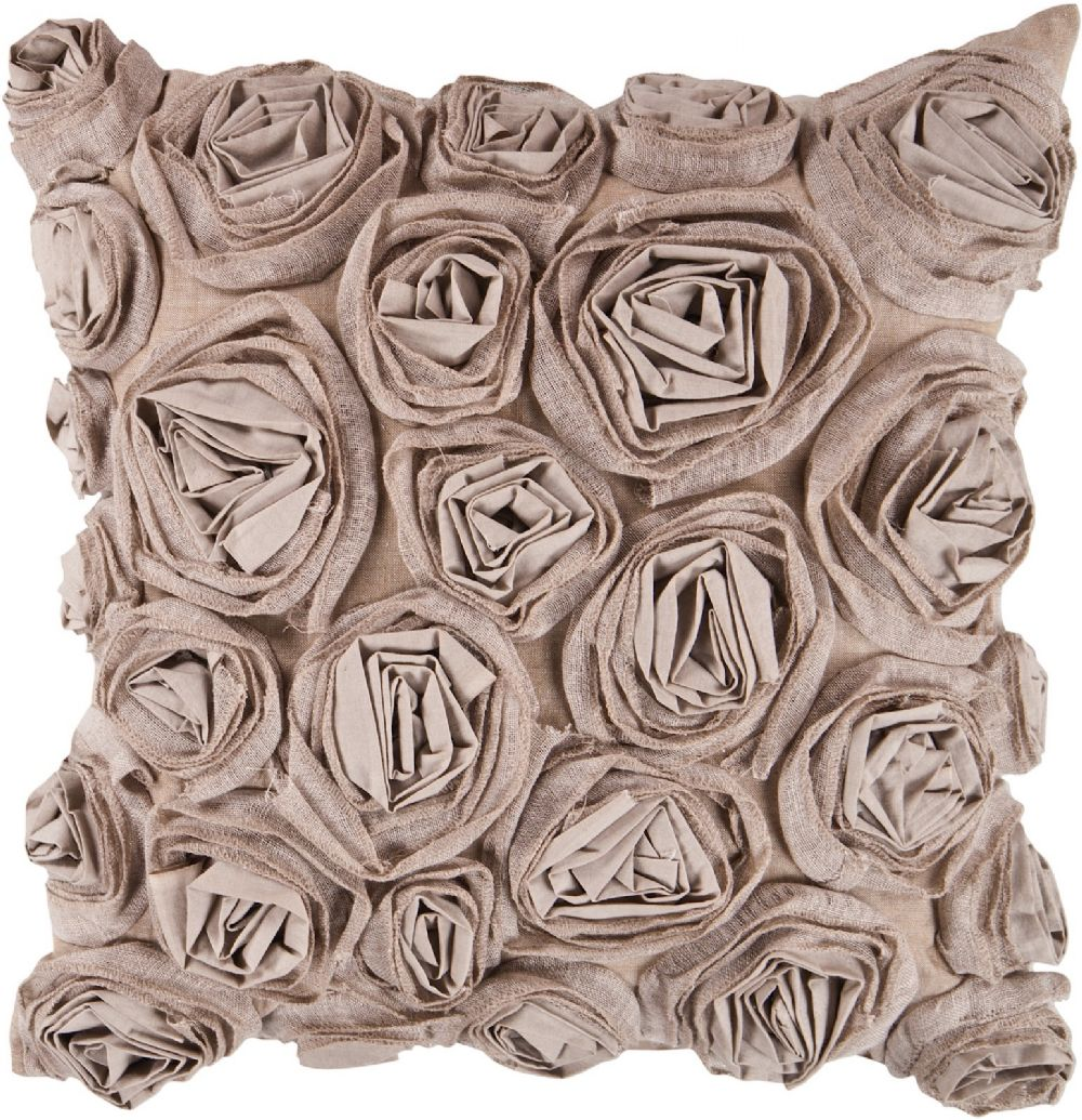 surya rustic romance country & floral decorative pillow collection
