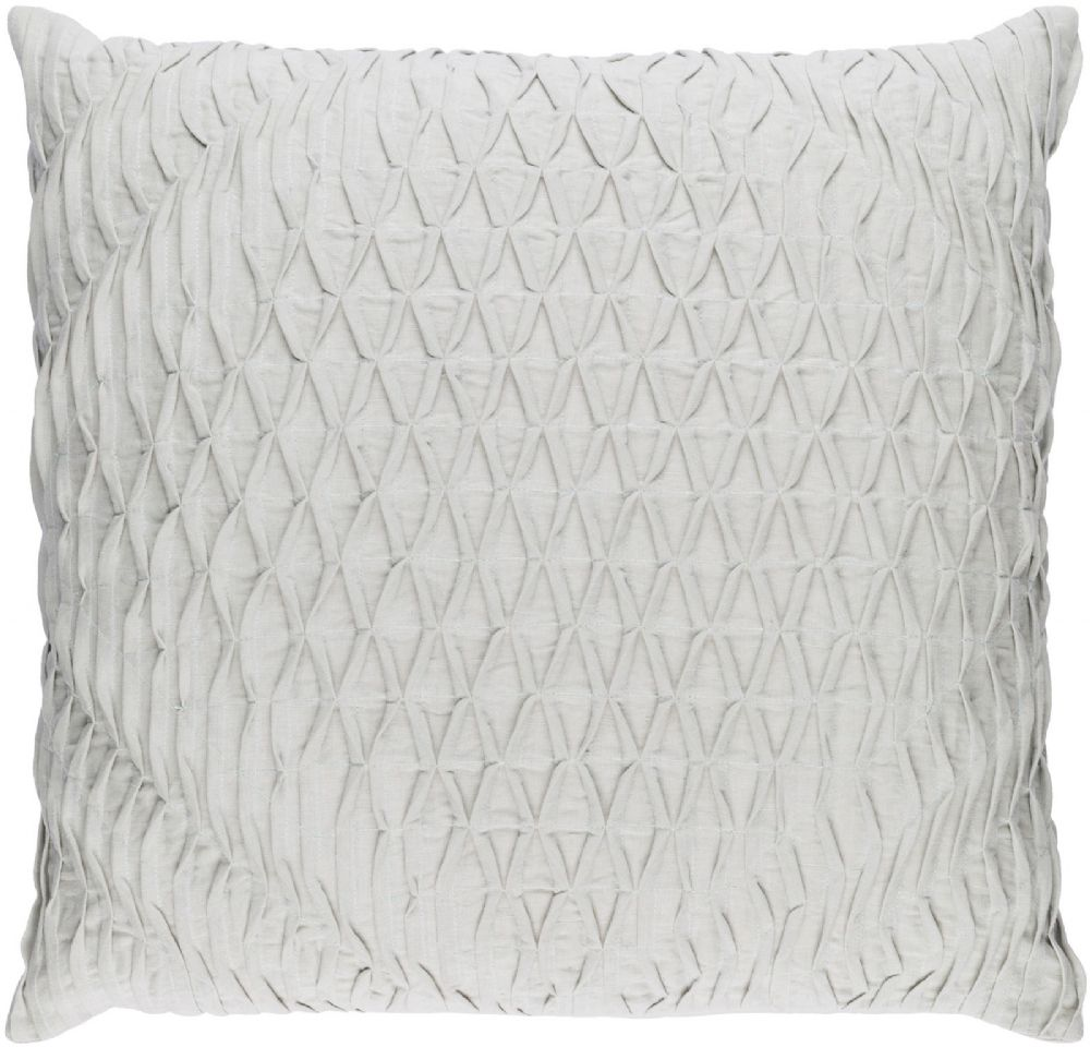 surya baker solid/striped decorative pillow collection