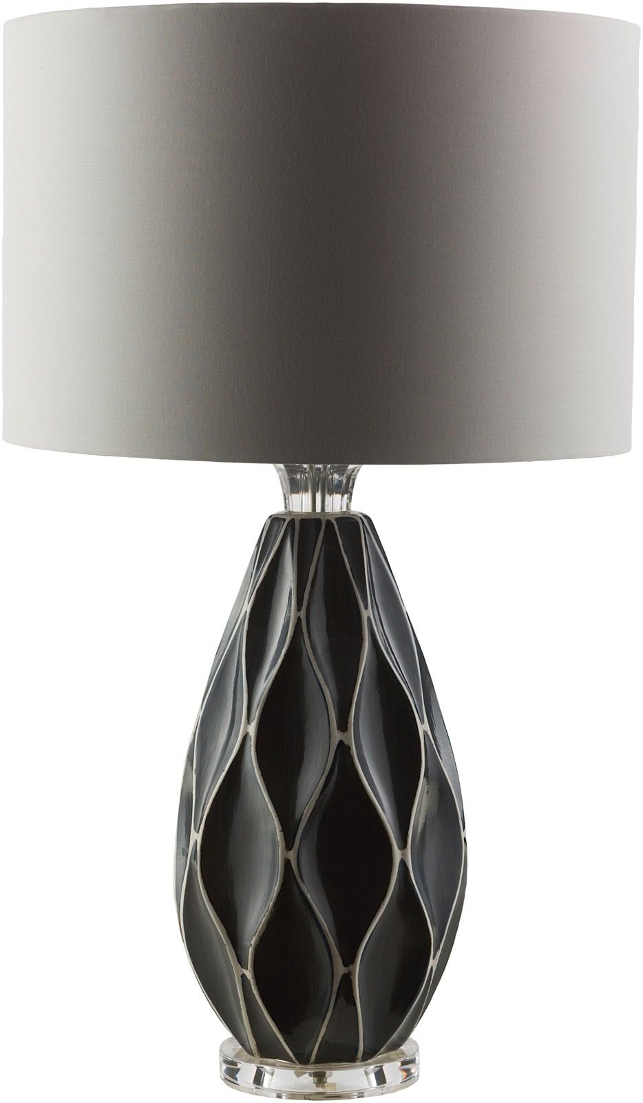 surya bethany contemporary table lamp