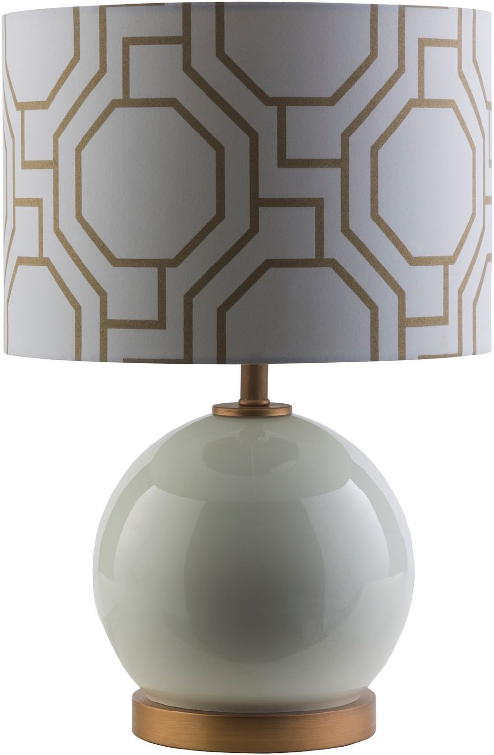 surya bowen contemporary table lamp