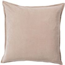 Surya Solid/Striped Cotton Velvet pillow Collection