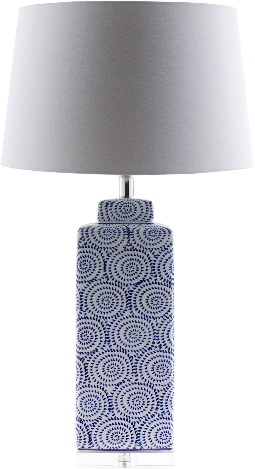 surya dunaway contemporary table lamp