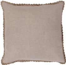 Surya Solid/Striped Elsa pillow Collection