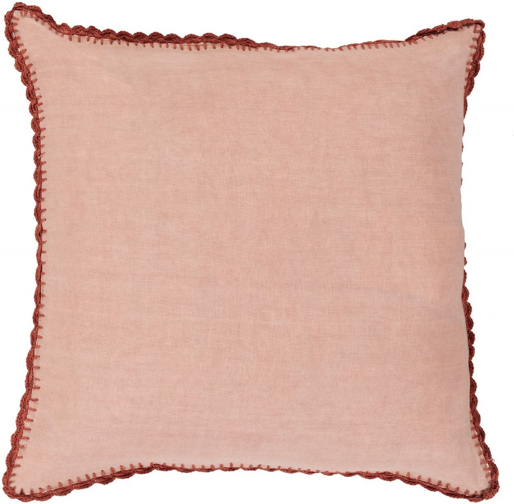 surya elsa solid/striped decorative pillow collection