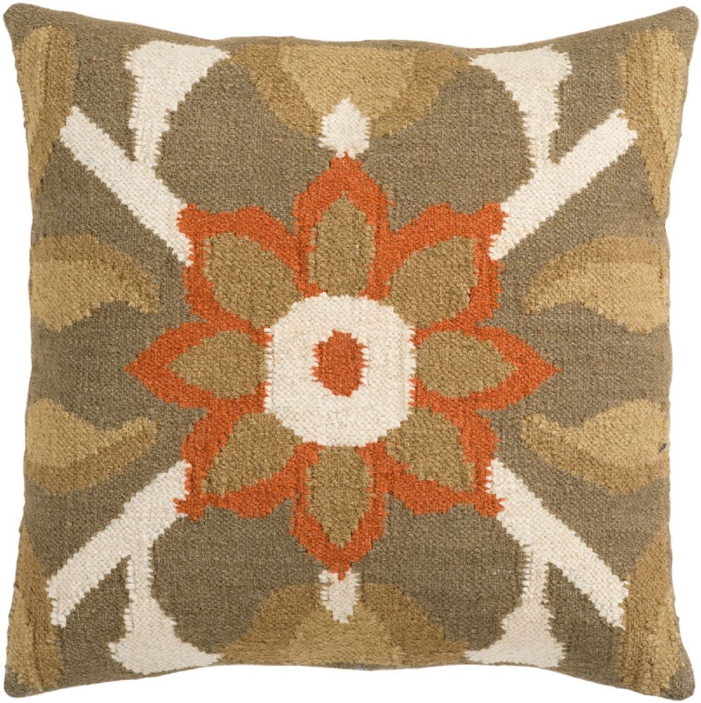 surya fallon country & floral decorative pillow collection