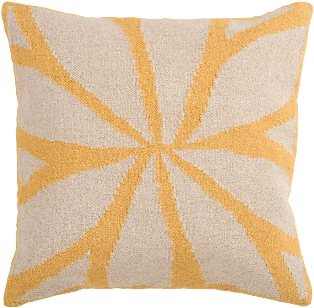 surya fallow country & floral decorative pillow collection