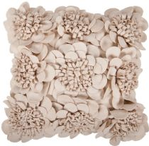 Surya Country & Floral Felt Garden pillow Collection