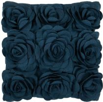 Surya Country & Floral Felted Floral pillow Collection