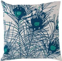 Surya Country & Floral Peacock Feathers pillow Collection