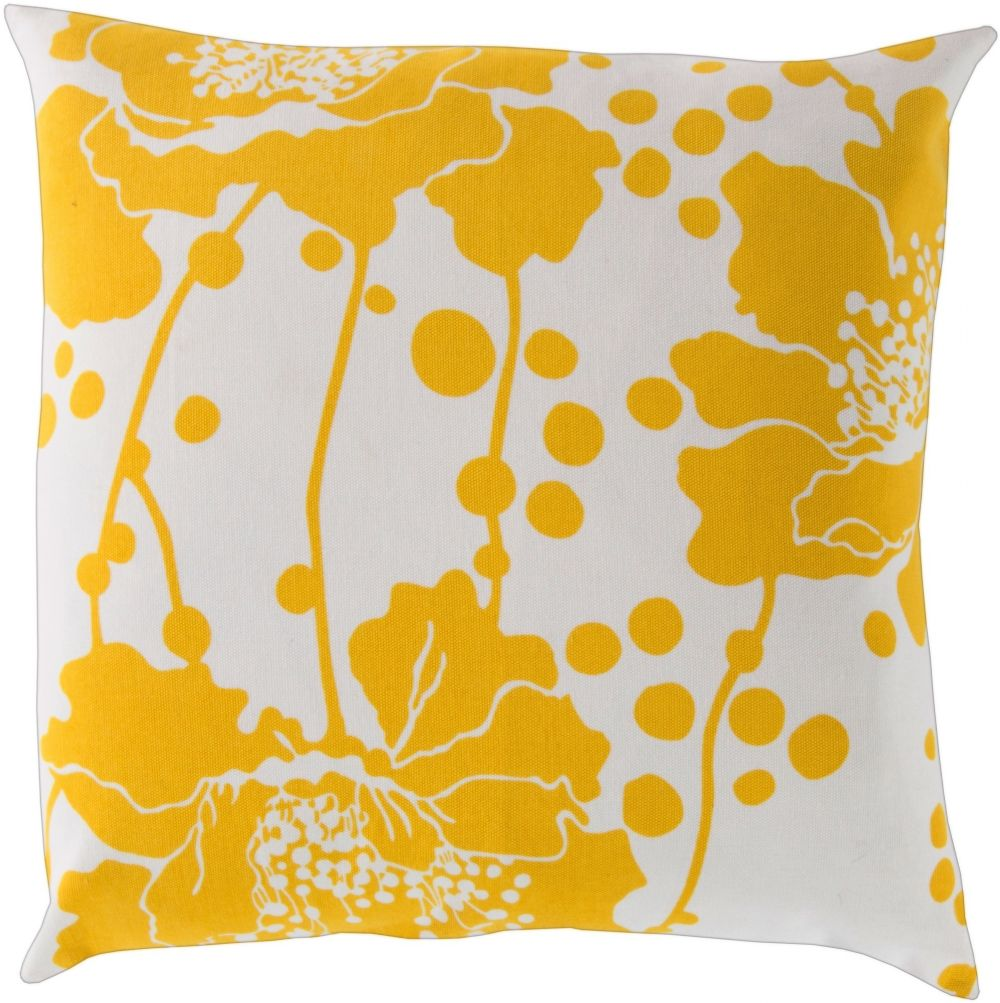 surya spotted floral country & floral decorative pillow collection