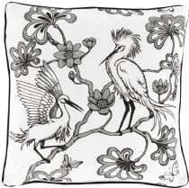Surya Country & Floral Egrets pillow Collection