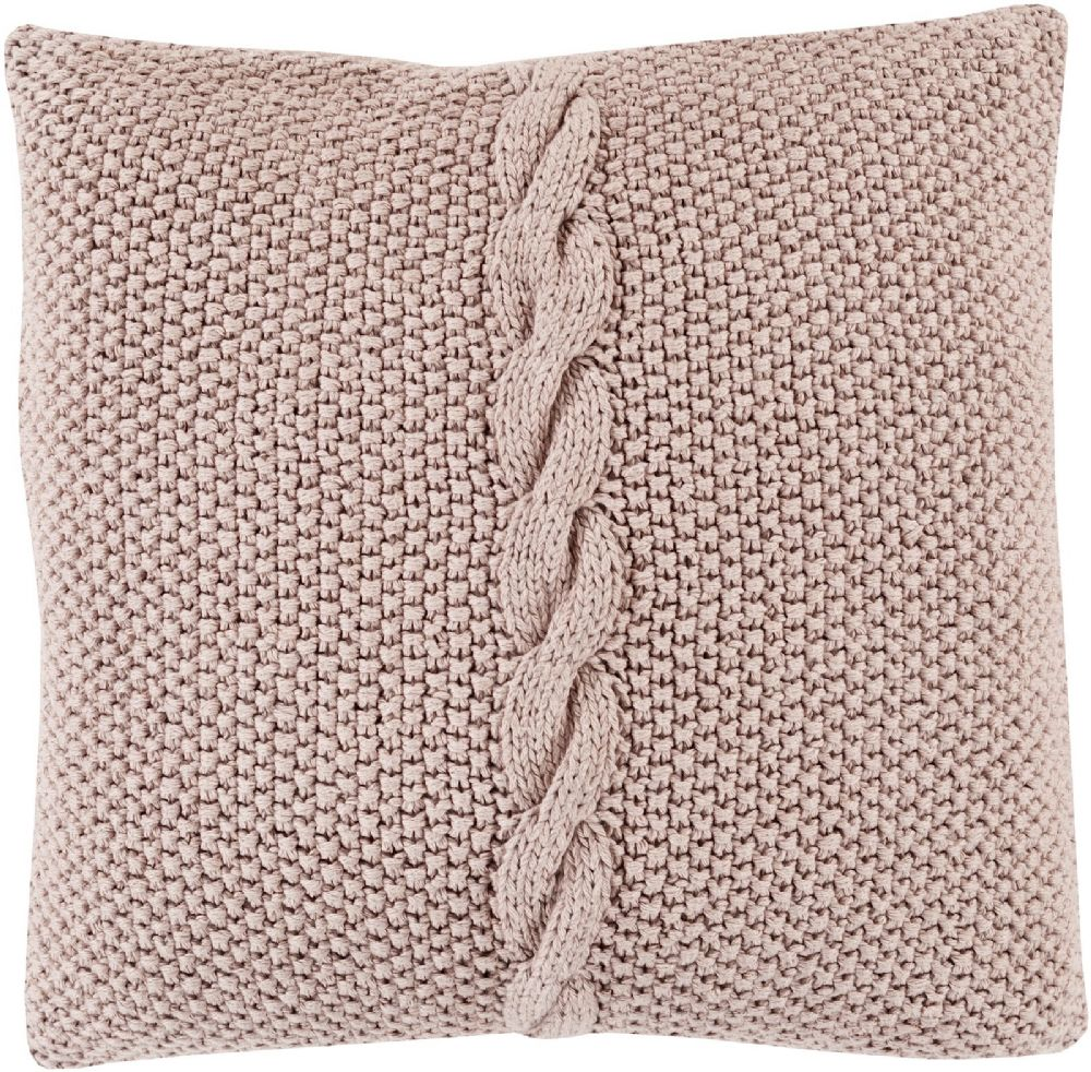 surya genevieve solid/striped decorative pillow collection