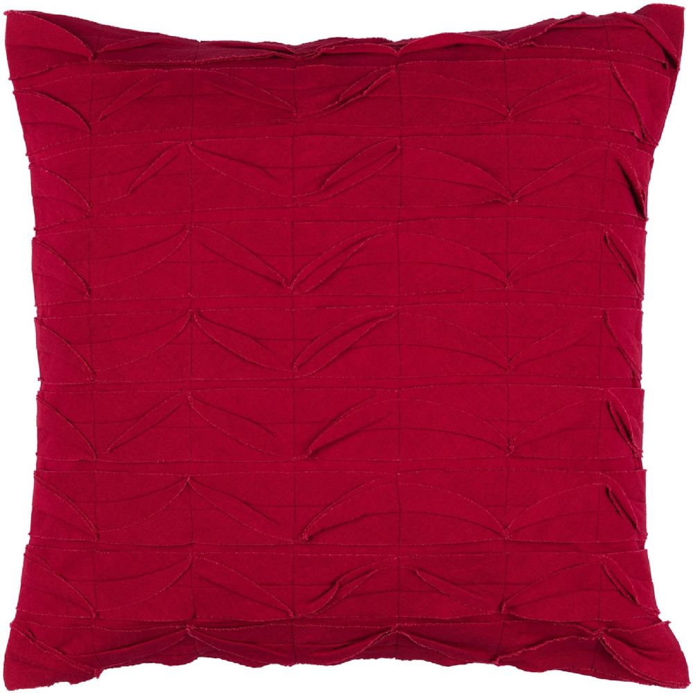 surya huckaby solid/striped decorative pillow collection
