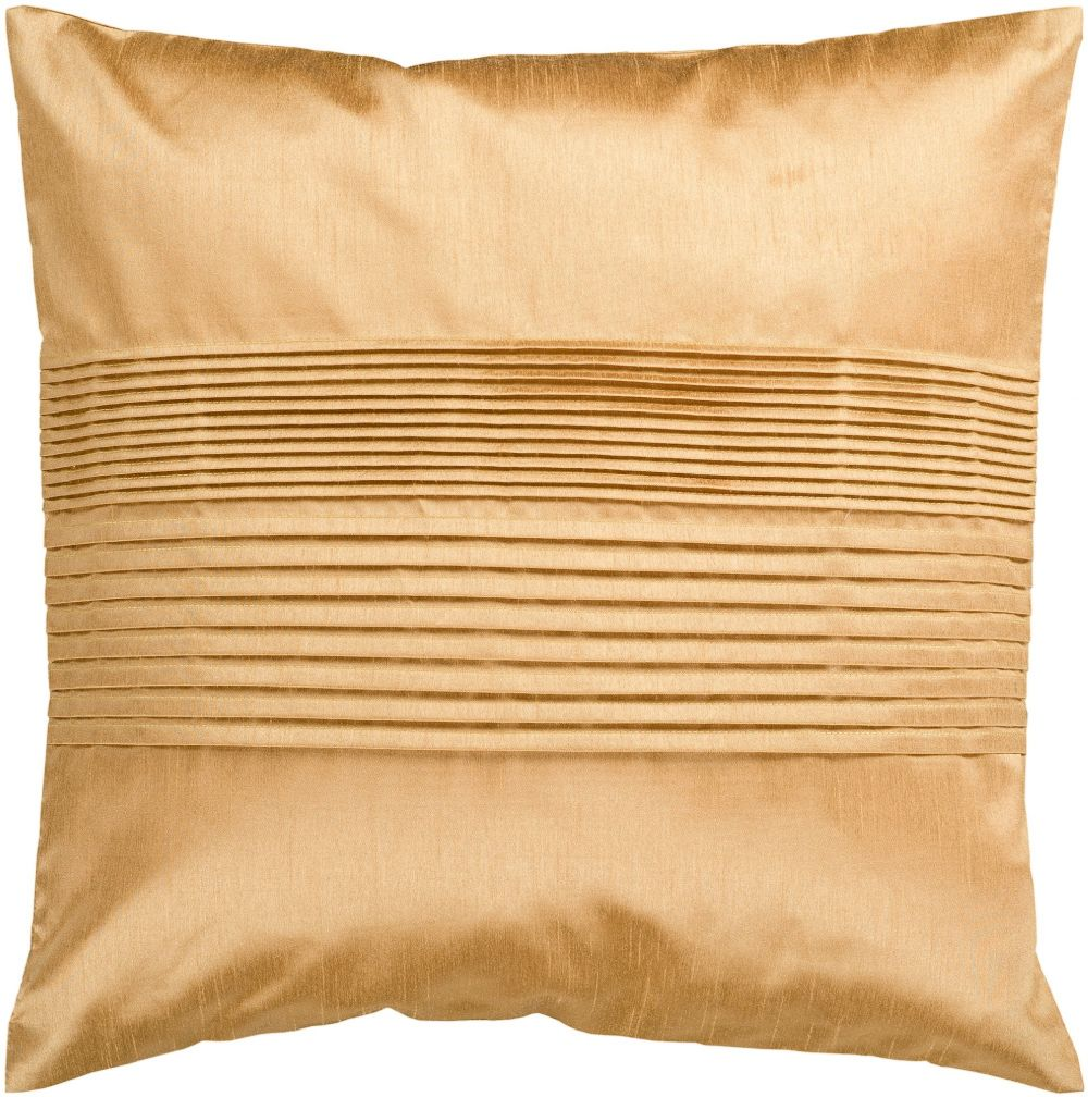 surya solid pleated solid/striped decorative pillow collection
