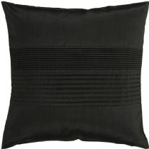 Surya Solid/Striped Solid Pleated pillow Collection