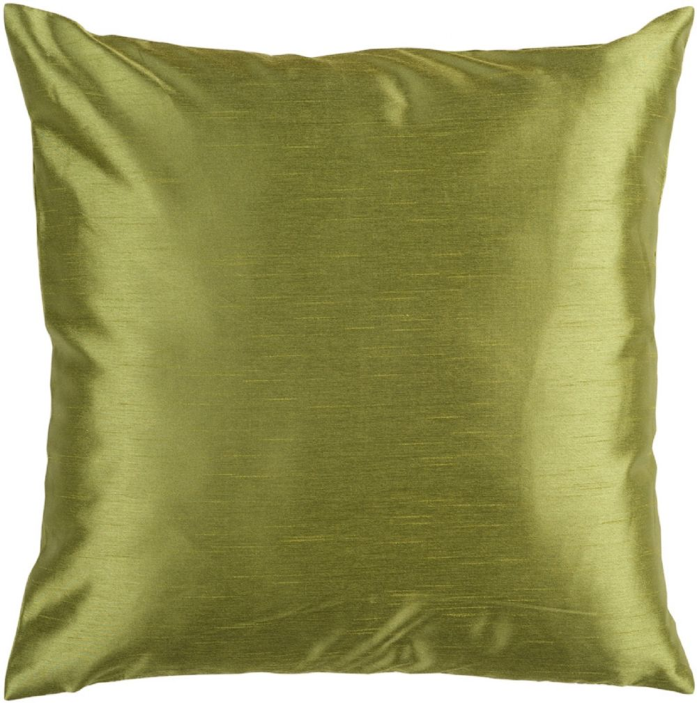 surya solid luxe solid/striped decorative pillow collection