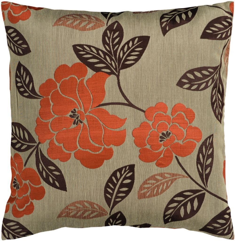 surya blossom country & floral decorative pillow collection