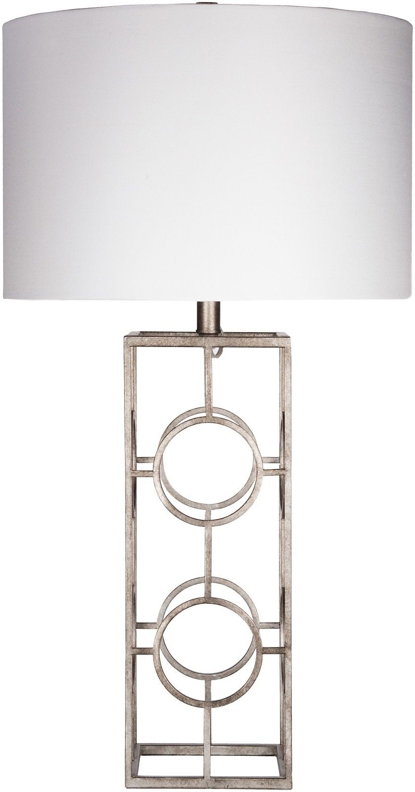 surya isaac contemporary table lamp
