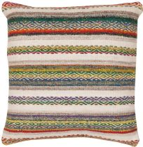 Surya Solid/Striped Isabella pillow Collection
