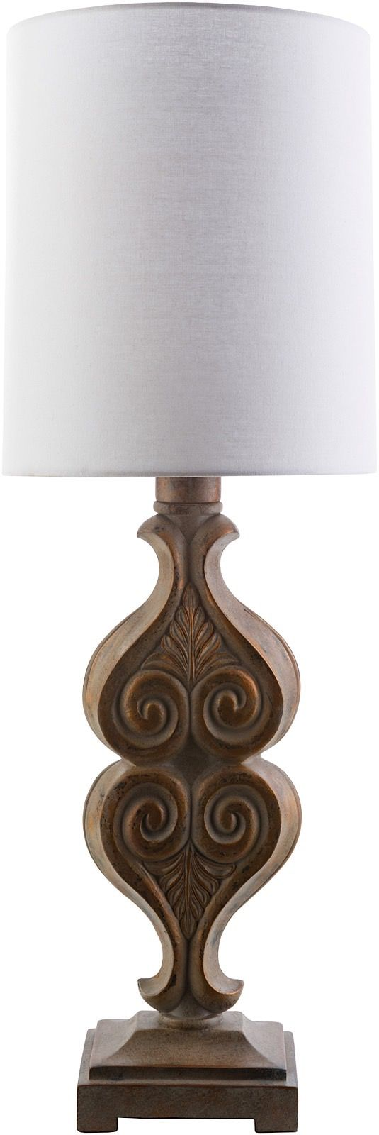surya keanu traditional table lamp
