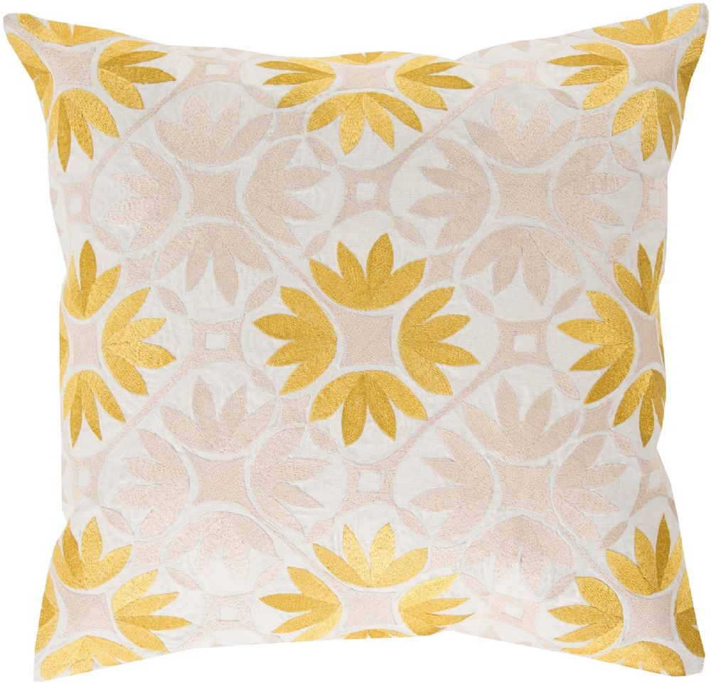 surya floral geo country & floral decorative pillow collection