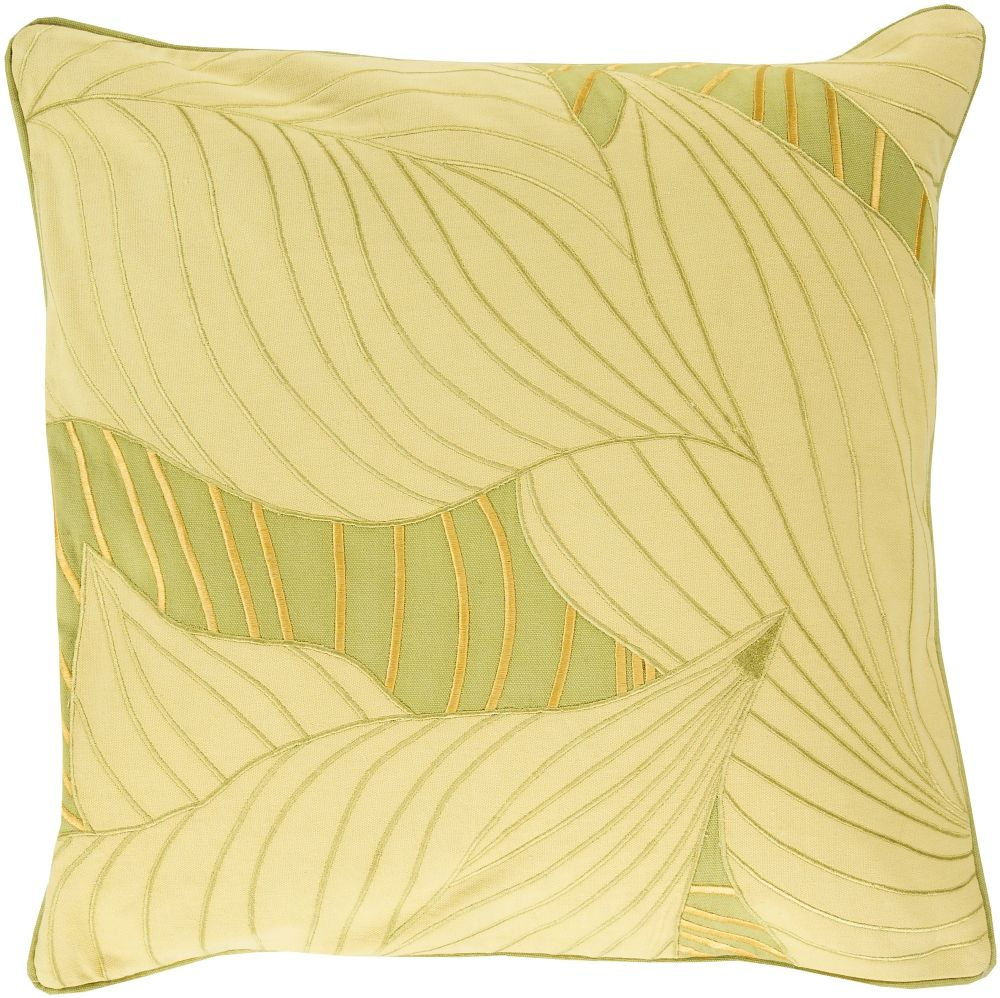 surya hosta country & floral decorative pillow collection