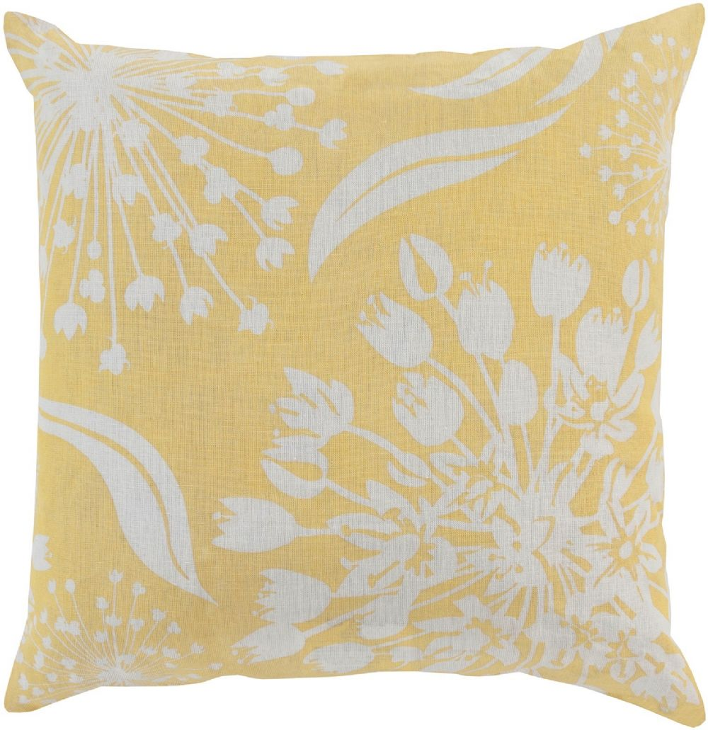 surya allium country & floral decorative pillow collection
