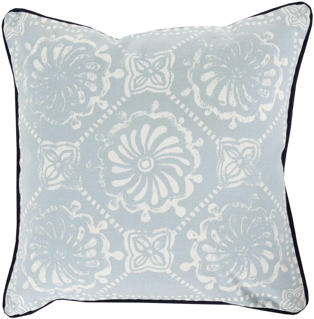 surya talavera country & floral decorative pillow collection