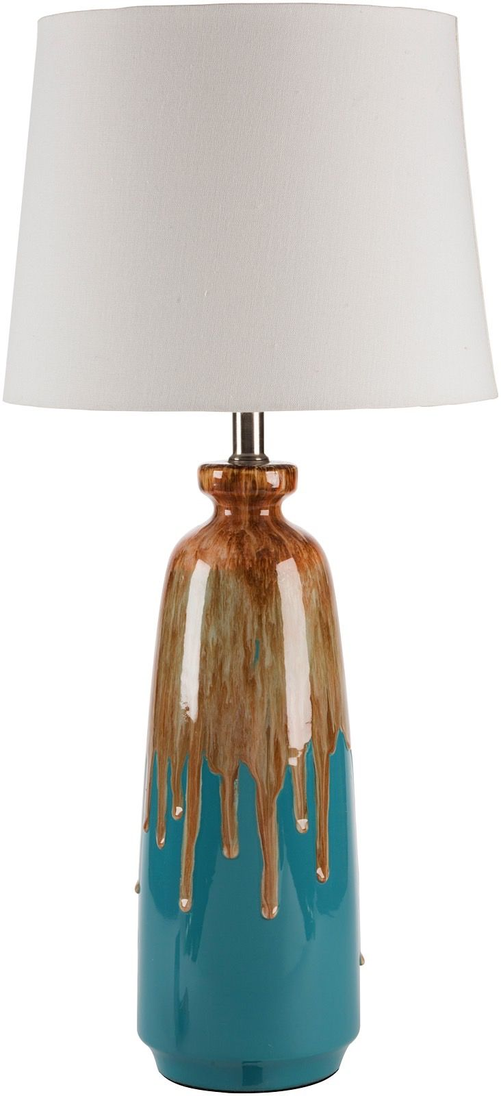 surya lagoon contemporary table lamp