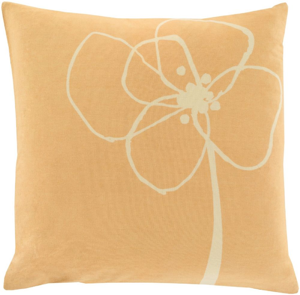 surya blomster country & floral decorative pillow collection