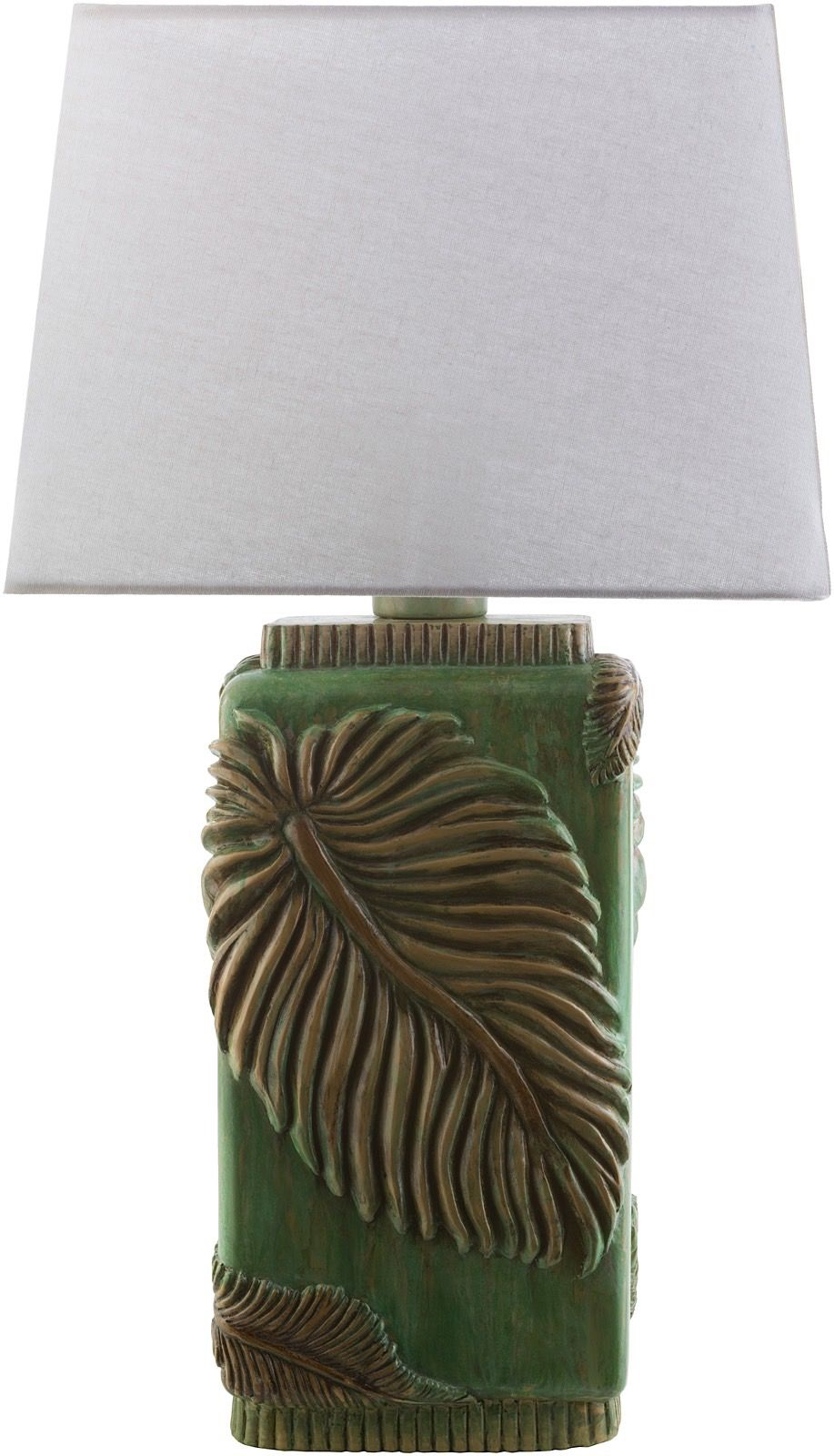surya lana country & floral table lamp