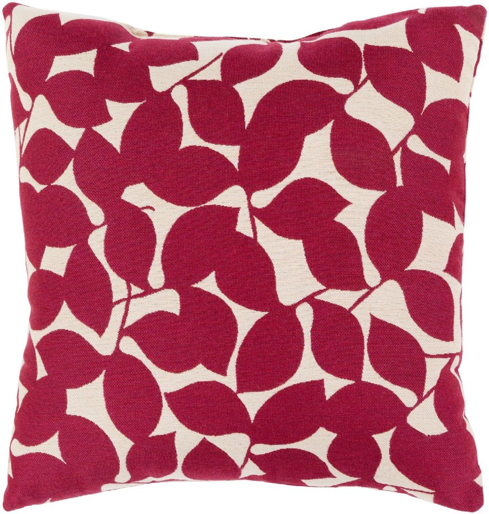 surya magnolia country & floral decorative pillow collection