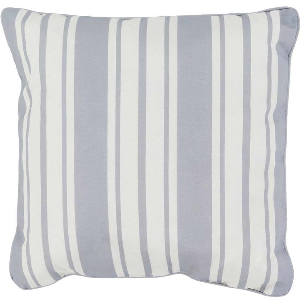 surya nautical stripe solid/striped decorative pillow collection