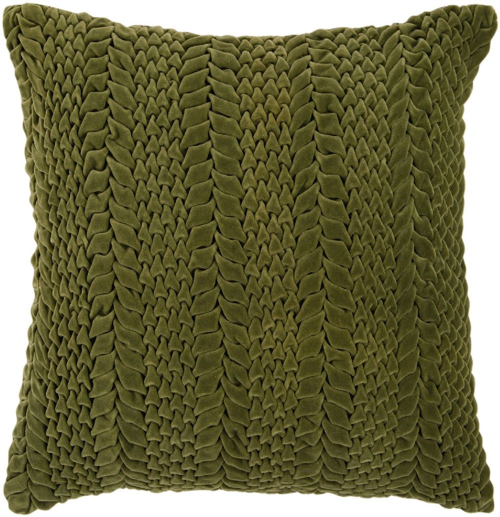surya velvet luxe solid/striped decorative pillow collection