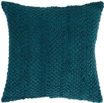 Surya Solid/Striped Velvet Luxe pillow Collection