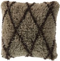 Surya Shag Mammoth pillow Collection