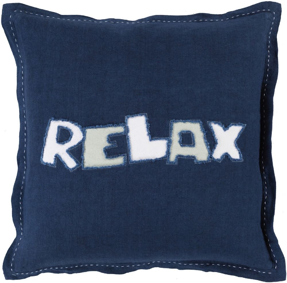 surya relax contemporary decorative pillow collection