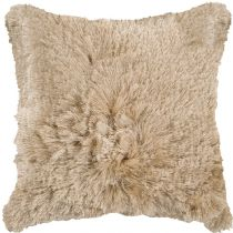 Surya Shag Stealth pillow Collection
