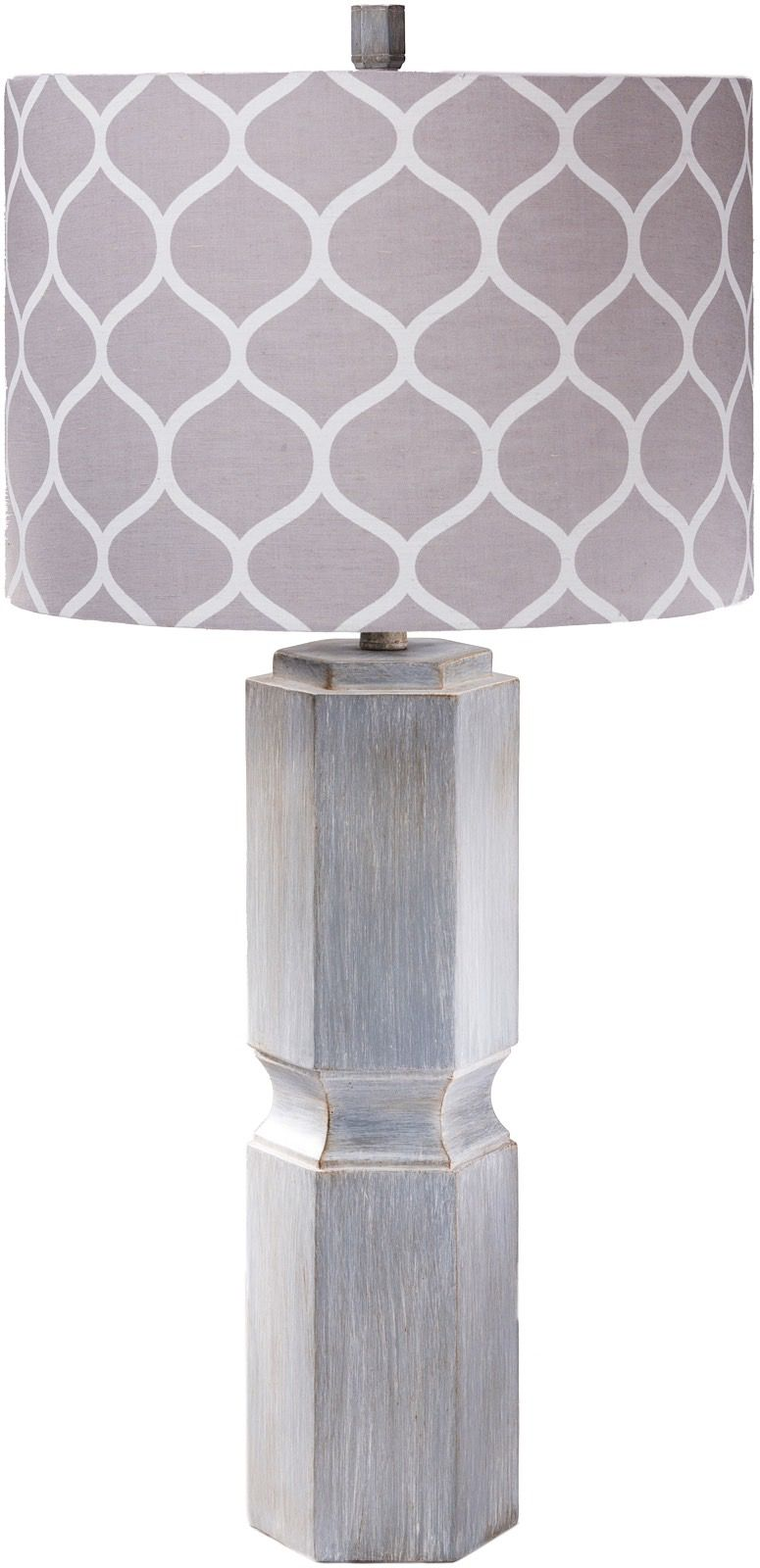 surya sandy contemporary table lamp