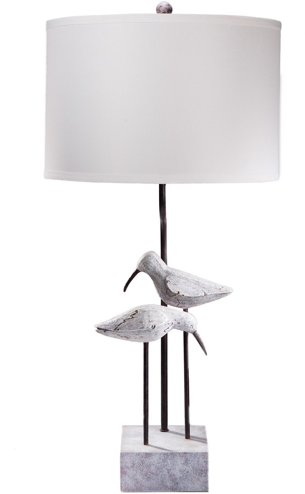 surya seagull contemporary table lamp
