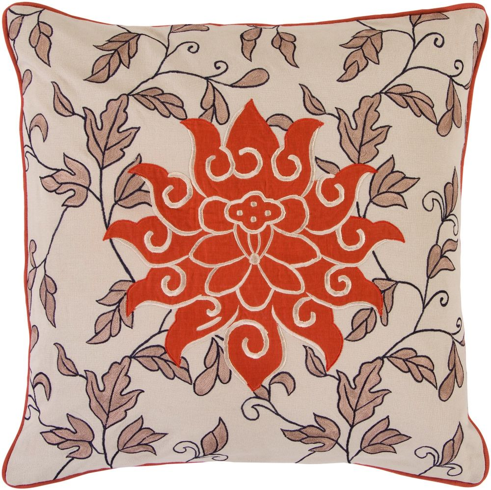 surya starburst contemporary decorative pillow collection